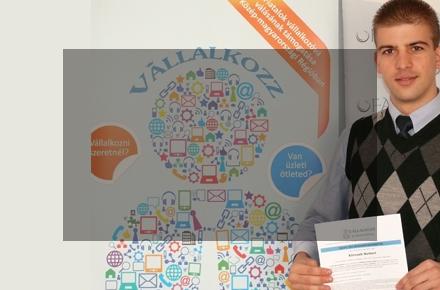 Sikeres Pályázó a Vállalkozz Itthon Fiatal! programban