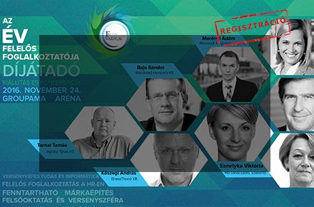 Az Év Felelős Foglalkoztatója Vagyok Szakmai Konferencia & Díjátadó