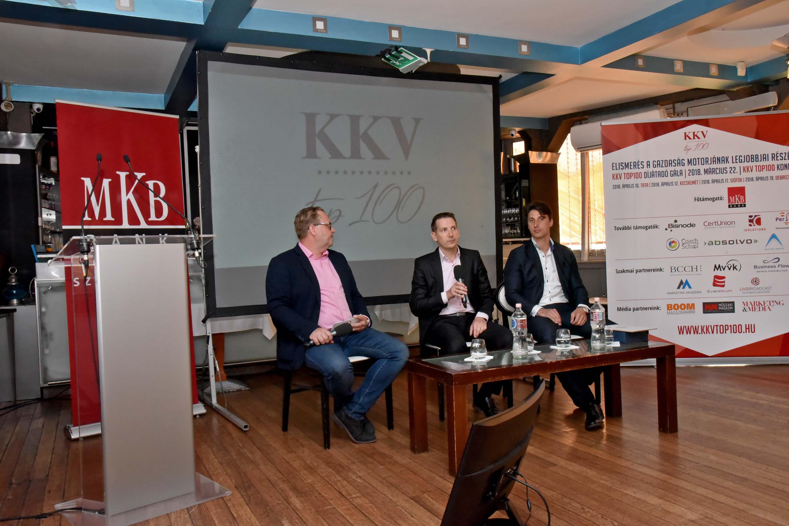 KKV TOP 100 konferencia Budapesten