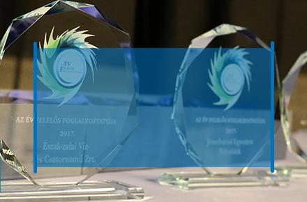 Az Év Felelős Foglalkoztatója 2017 nyertesei